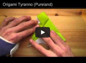 Pureland Origami T Rex